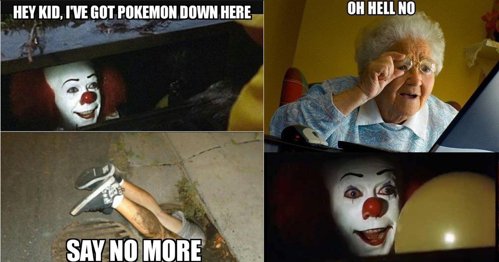The 15 Most Hilarious Pennywise The Clown Memes On The Internet
