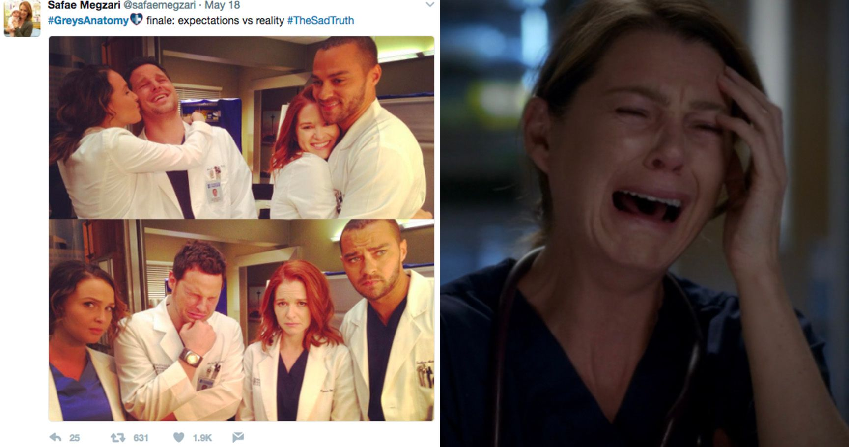 15 Things We Were All Thinking During That Greys Anatomy Finale