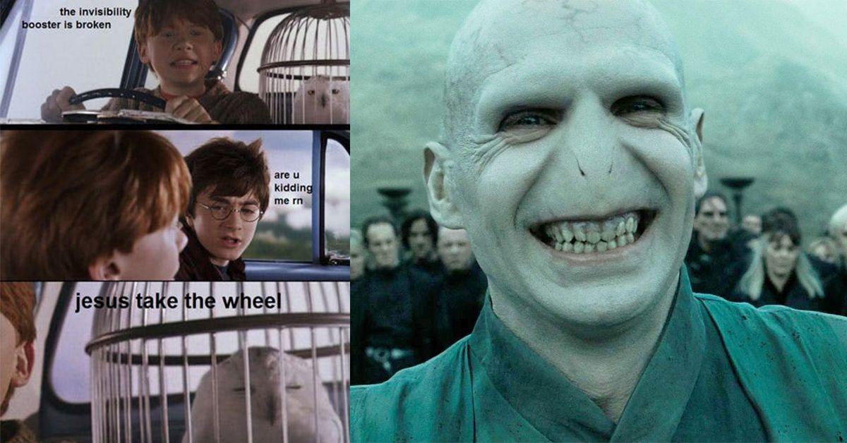 Funny Harry Potter Memes Voldemort : ✅ best memes about harry potter memes harry potter memes