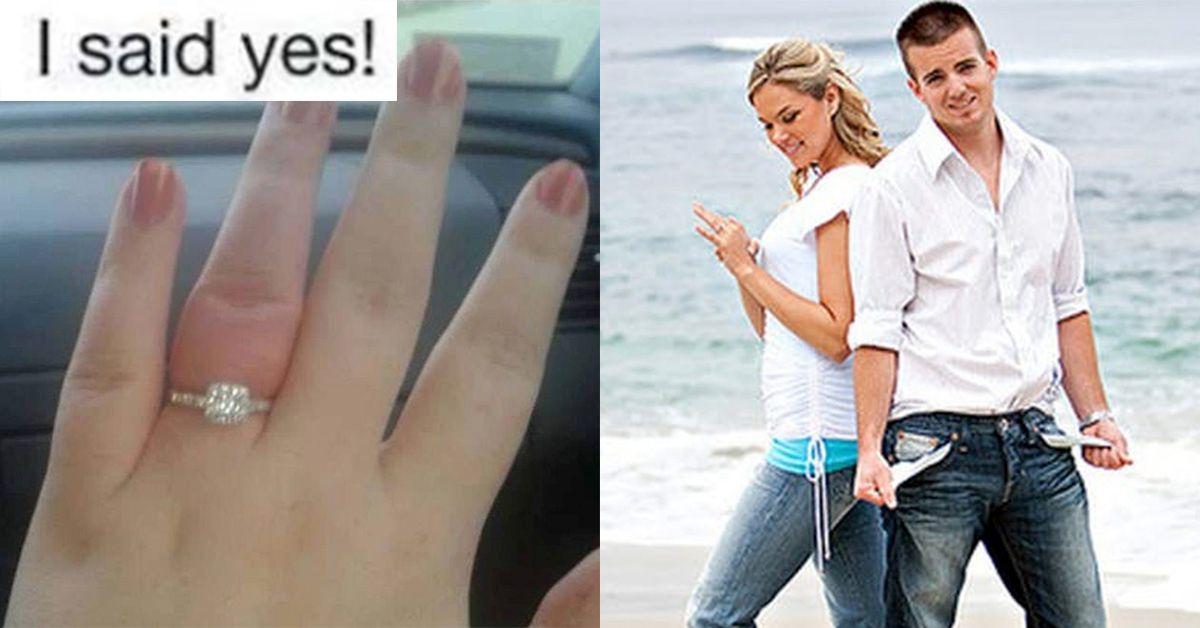 19 Horrifying Engagement Announcements That Stole The