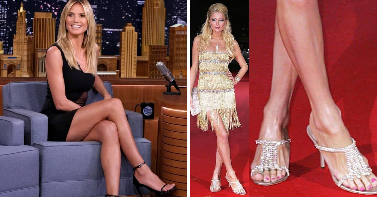 20 Female Celebrities With Enormous Feet