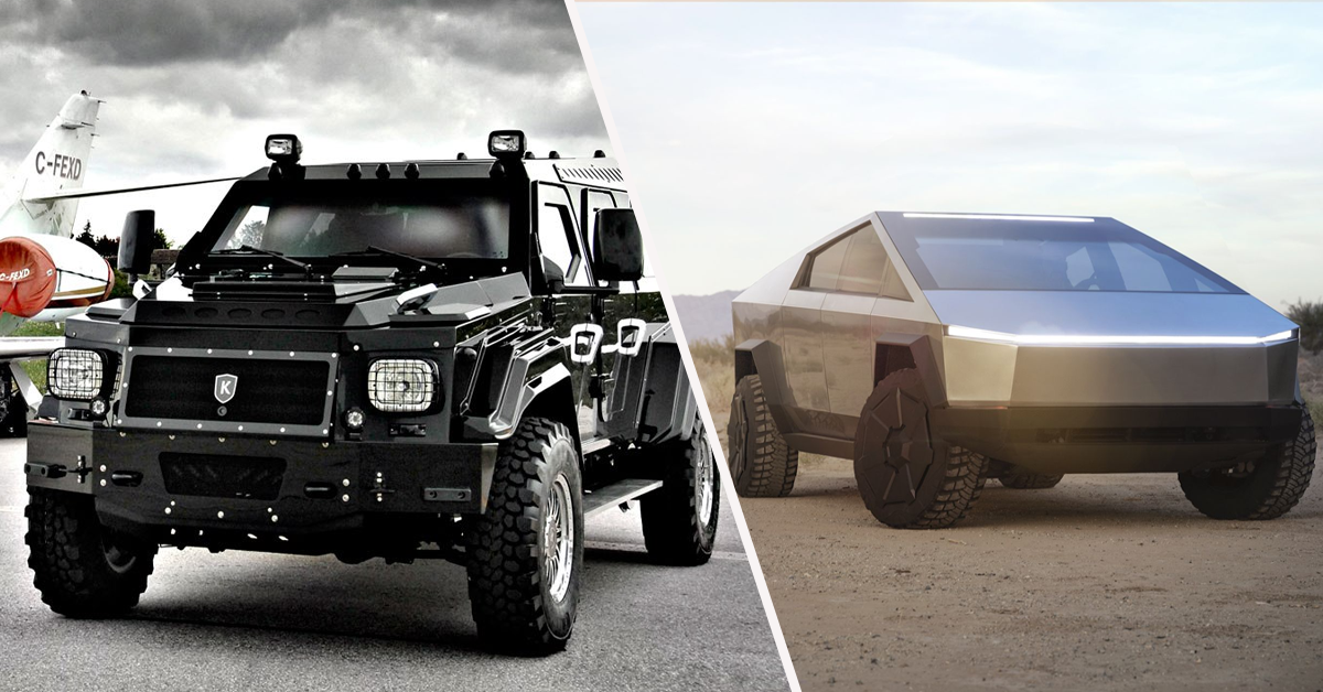 10 Armored Civilian Cars You Can Buy Instead Of A Cybertruck And 10 Pickups