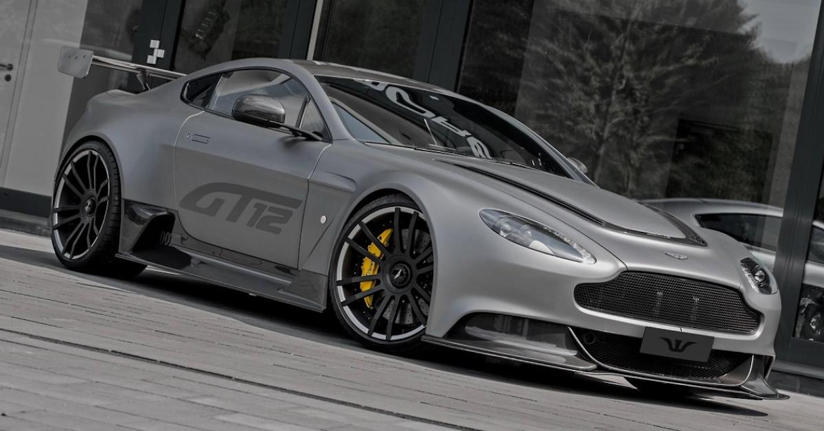 15 Sick Photos Of Custom Aston Martins Thethings