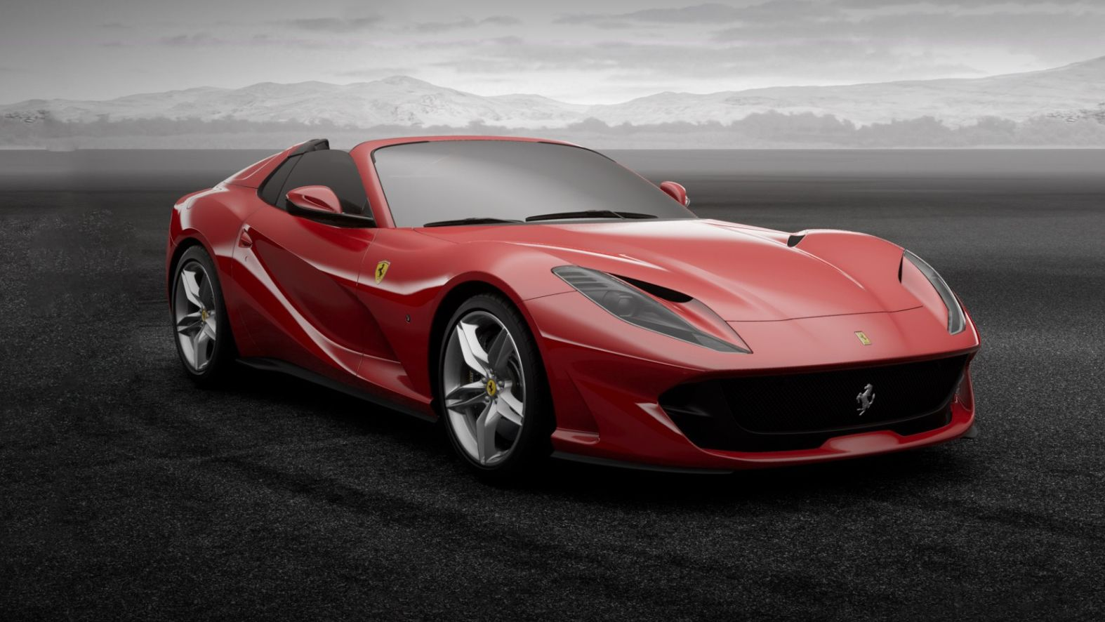 Ferrari Brings Back The V12 Spider With The New 812 Gts Again