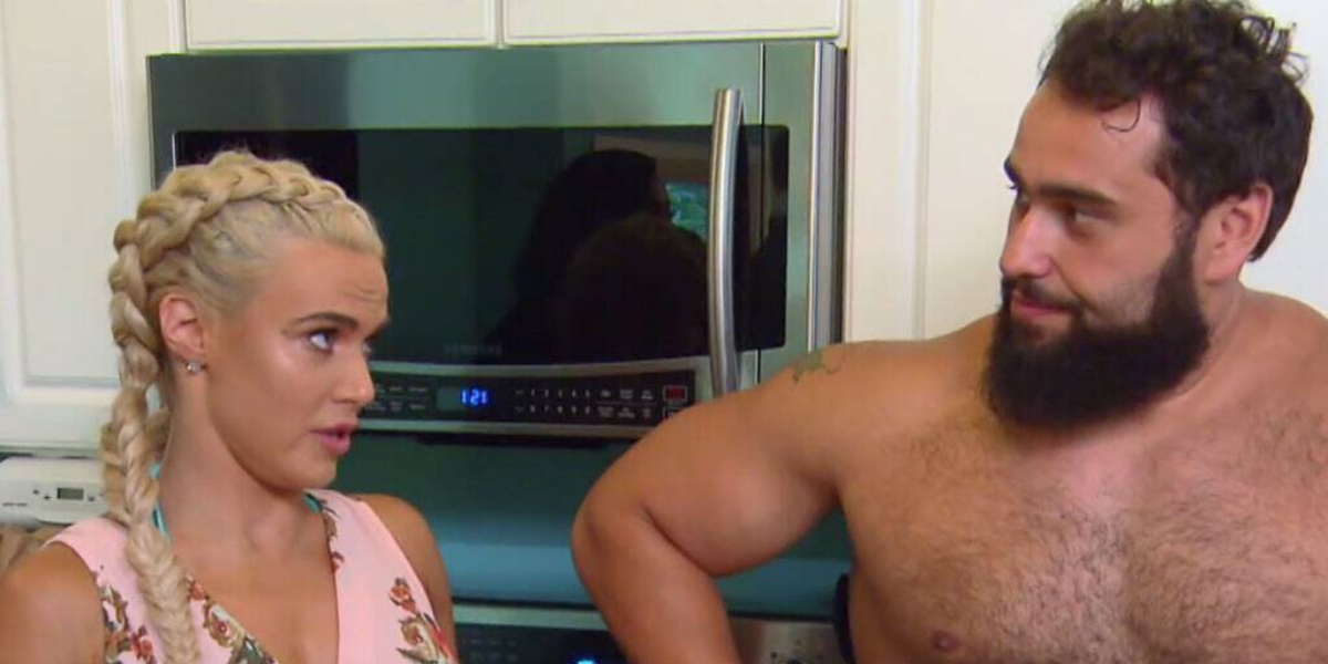 WWEs tense reaction to Rusev and Lana breaking kayfabe