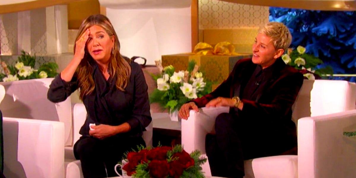 "Why Does Ellen DeGeneres' Attitude Change When The Director Yells ""Cut""?"