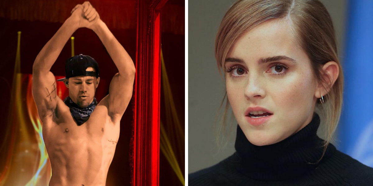 The Real Reason Emma Watson Refused To Film A Scene With Channing Tatum