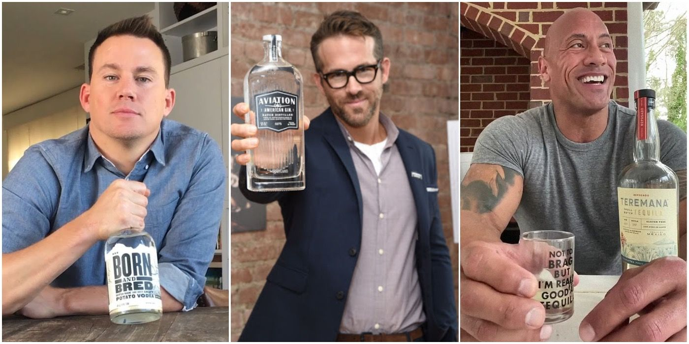 Dwayne Johnson & 9 More Celebs Who Own Alcohol Brands | TheThings