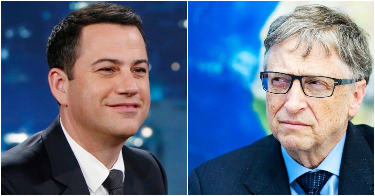 What Happened When Jimmy Kimmel Roasted Bill Gates?