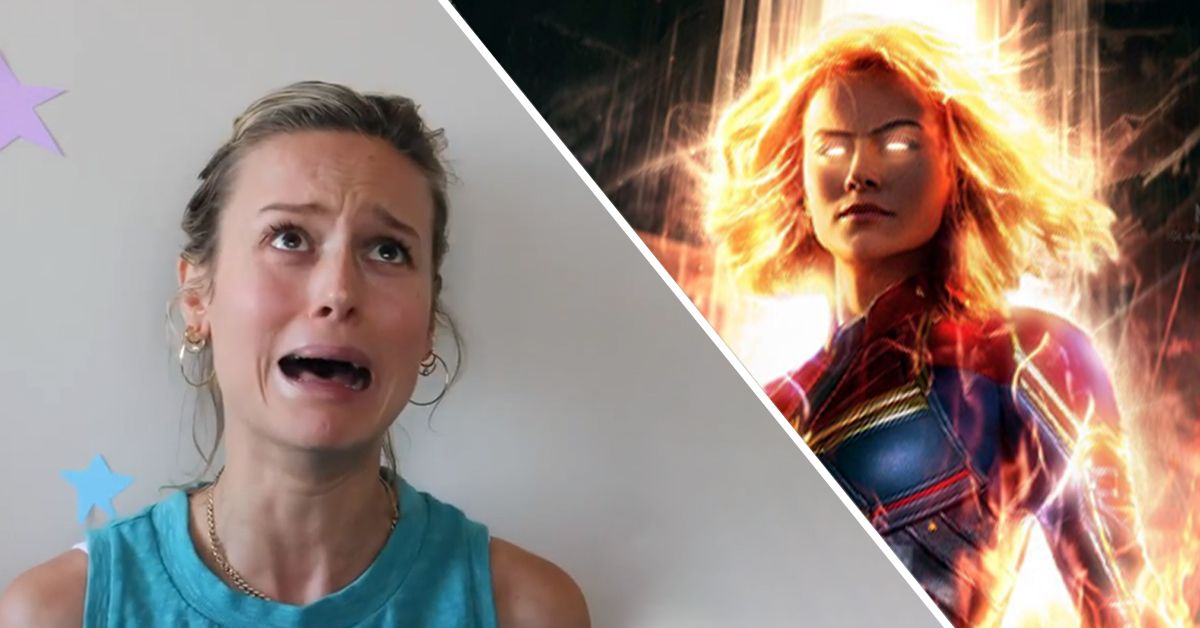 Why Brie Larson Was Scared To Tell Her Mom About 'Captain Marvel'