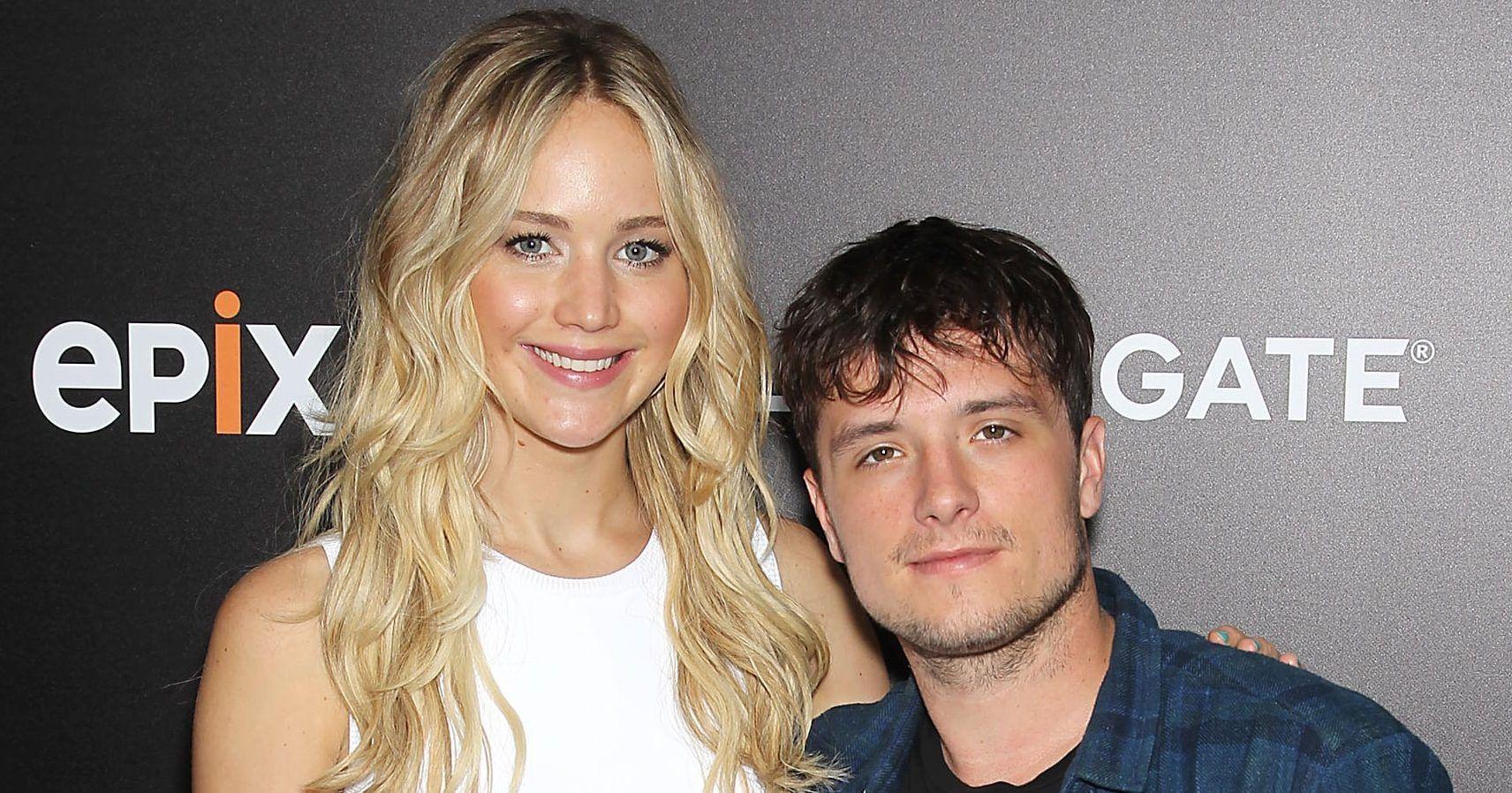'The Hunger Games' Stars Jennifer Lawrence And Josh Hutcherson Had A Secret Reunion