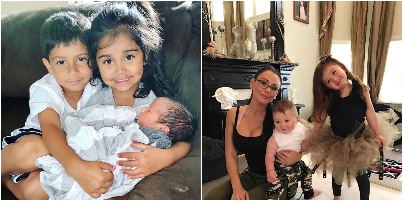 Everything We Know About The Kids Of The Jersey Shore Family ...
