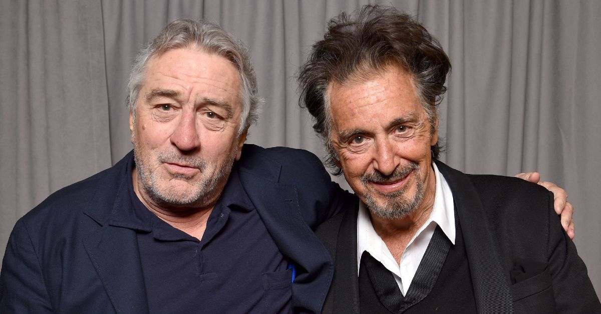 An Inside Look At Robert De Niro And Al Pacino's Bromance