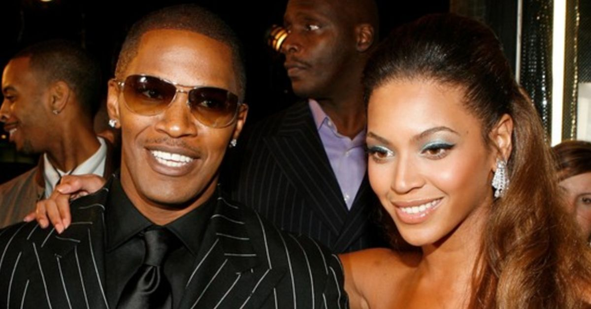 Here's Why Jamie Foxx Didn't Like Kissing Beyonce In 'Dreamgirls'