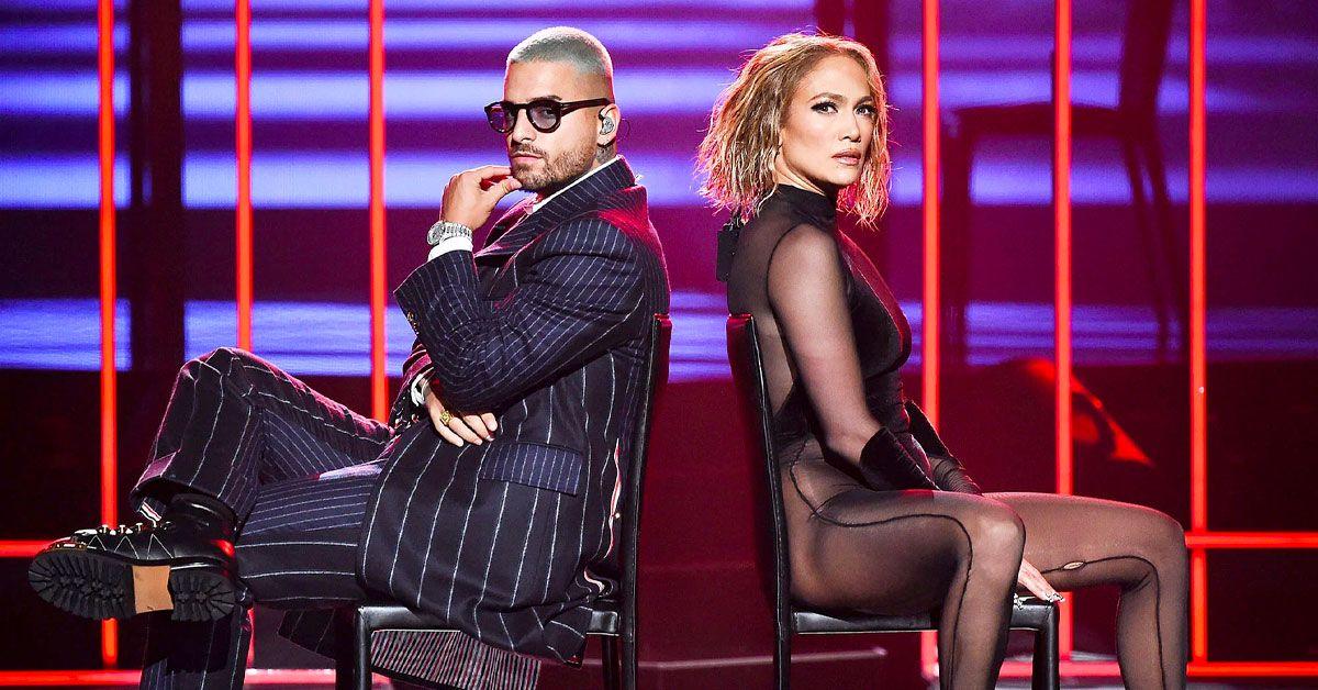 Fans Go Wild Over Jennifer Lopez And Maluma's Sizzling Hot AMA Performance