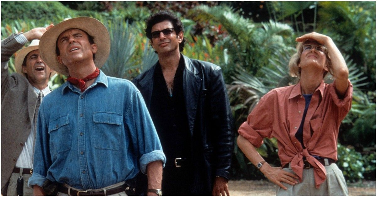 How The Cast Of 'Jurassic Park' Were Actually Trapped On The Island