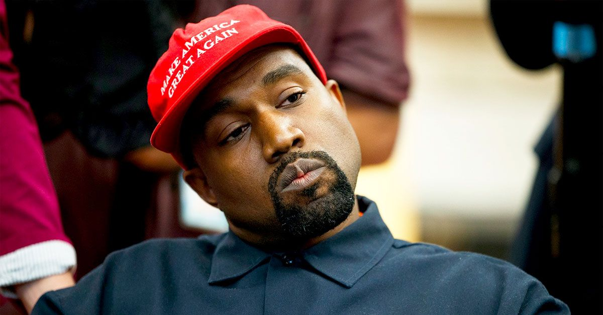 Kanye West Is Silent On Social Media After Fans Fail To 'Write Him In'