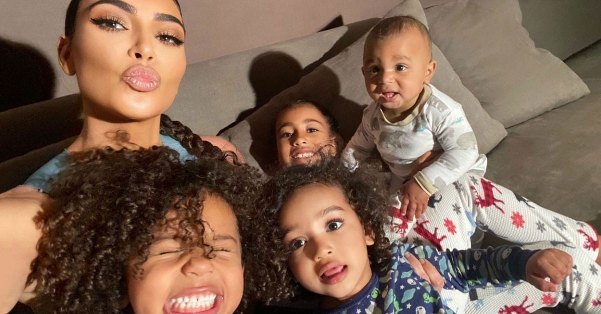 Kim Kardashian Fans Attack Her For Telling Her Kids She Wanted To 'Cut Herself'