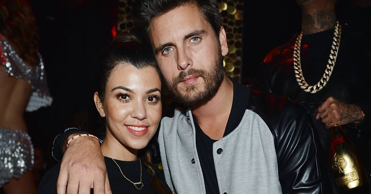 Scott Disick Is Unrecognizable In This Throwback Photo With Kourtney Kardashian