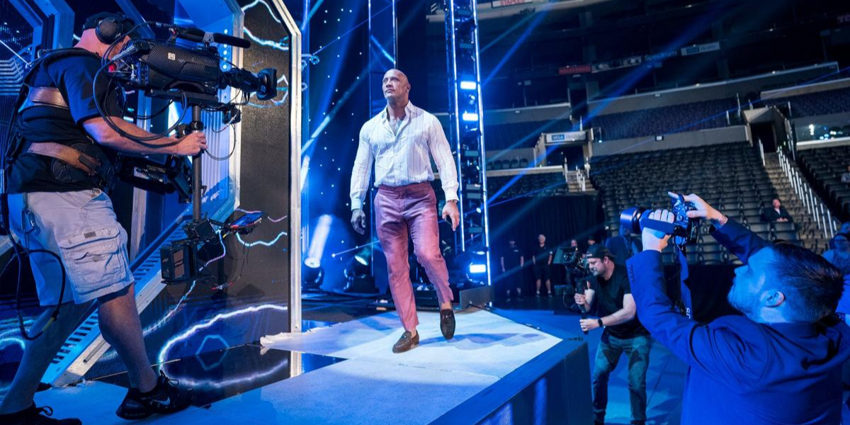 Dwayne Johnson Was In Awe Of This Wrestler As A Rookie