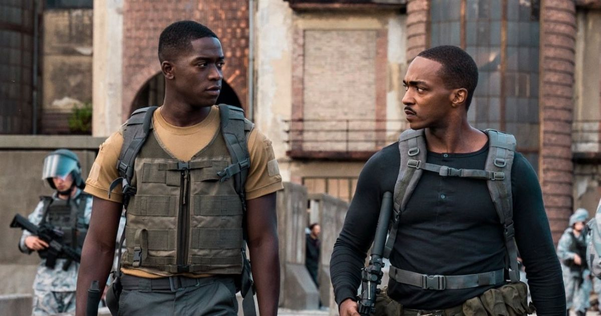MCU Star Anthony Mackie Plays An Android In Netflix Sci-Fi Movie 'Outside The Wire'