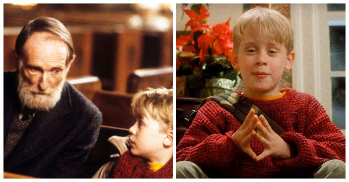 This 'Home Alone' Fan Theory Says The Old Man Is Actually Kevin