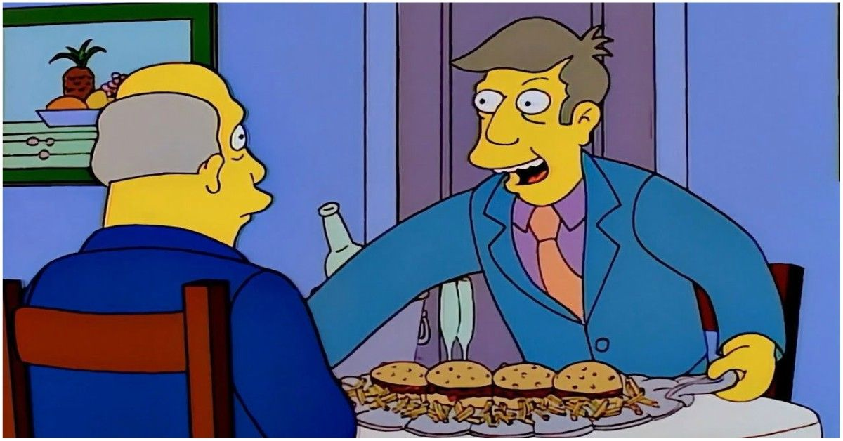 "The Truth Behind The ""Steamed Hams"" Scene In 'The Simpsons'"