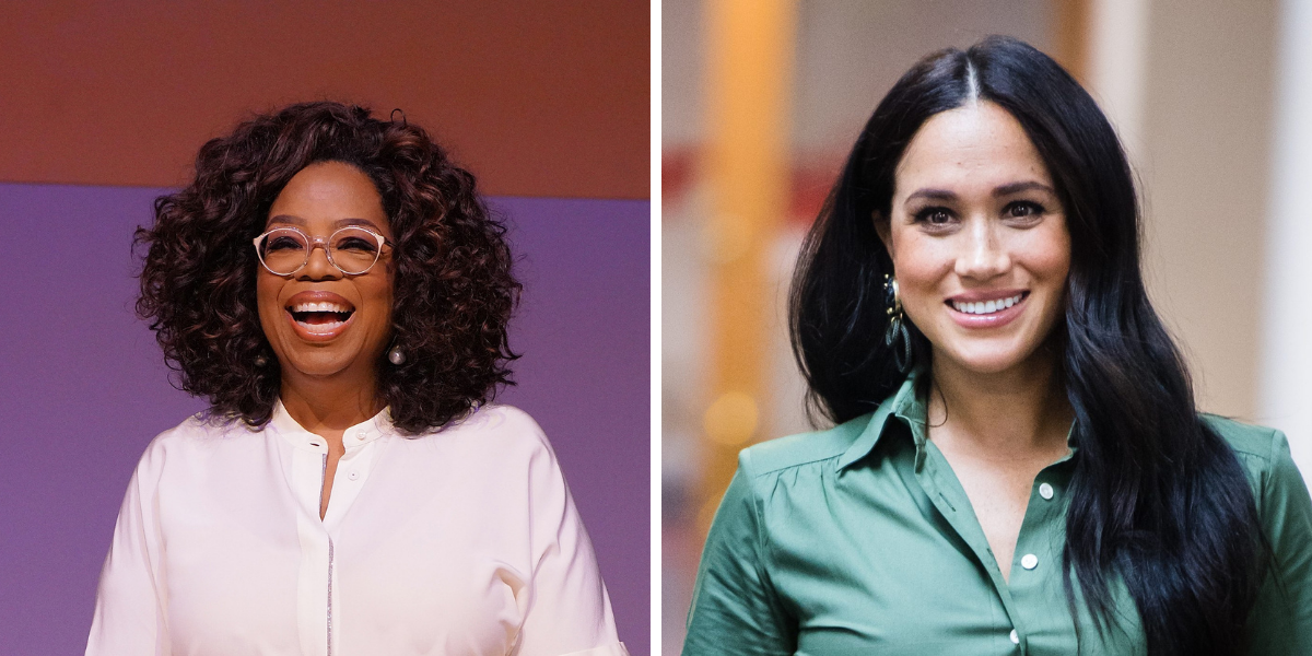 Here's What Meghan Markle Once Gifted Oprah Winfrey For Christmas