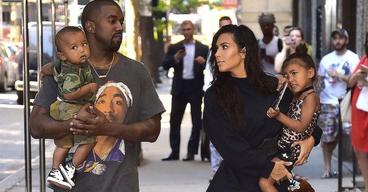 Kanye West And Kim Kardashian In 'Bitter Custody Battle' Over Where Their Kids Live