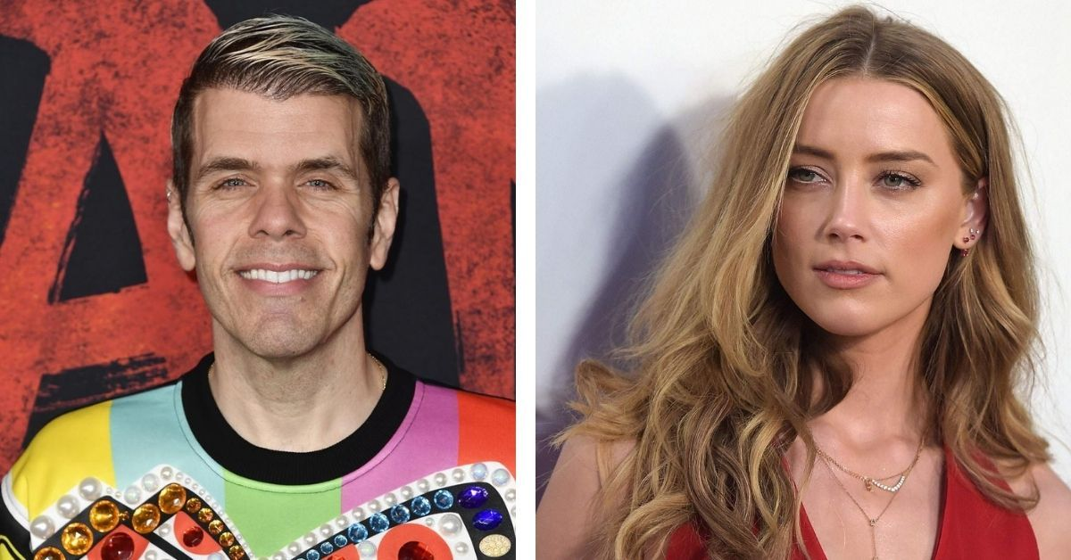 Perez Hilton Reacts To Amber Heard Reportedly 'Stealing' $7 Million