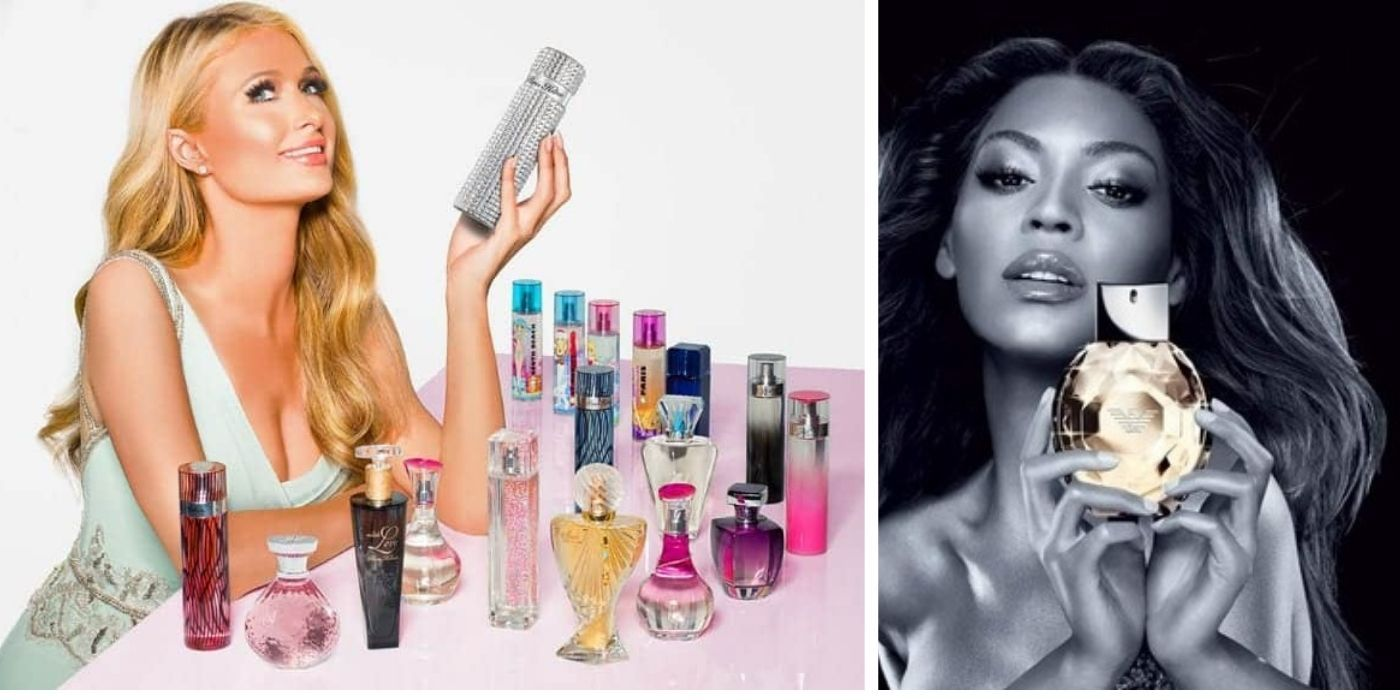 Paris Hilton, Lady Gaga, & Other Celebs With Popular Perfume Lines
