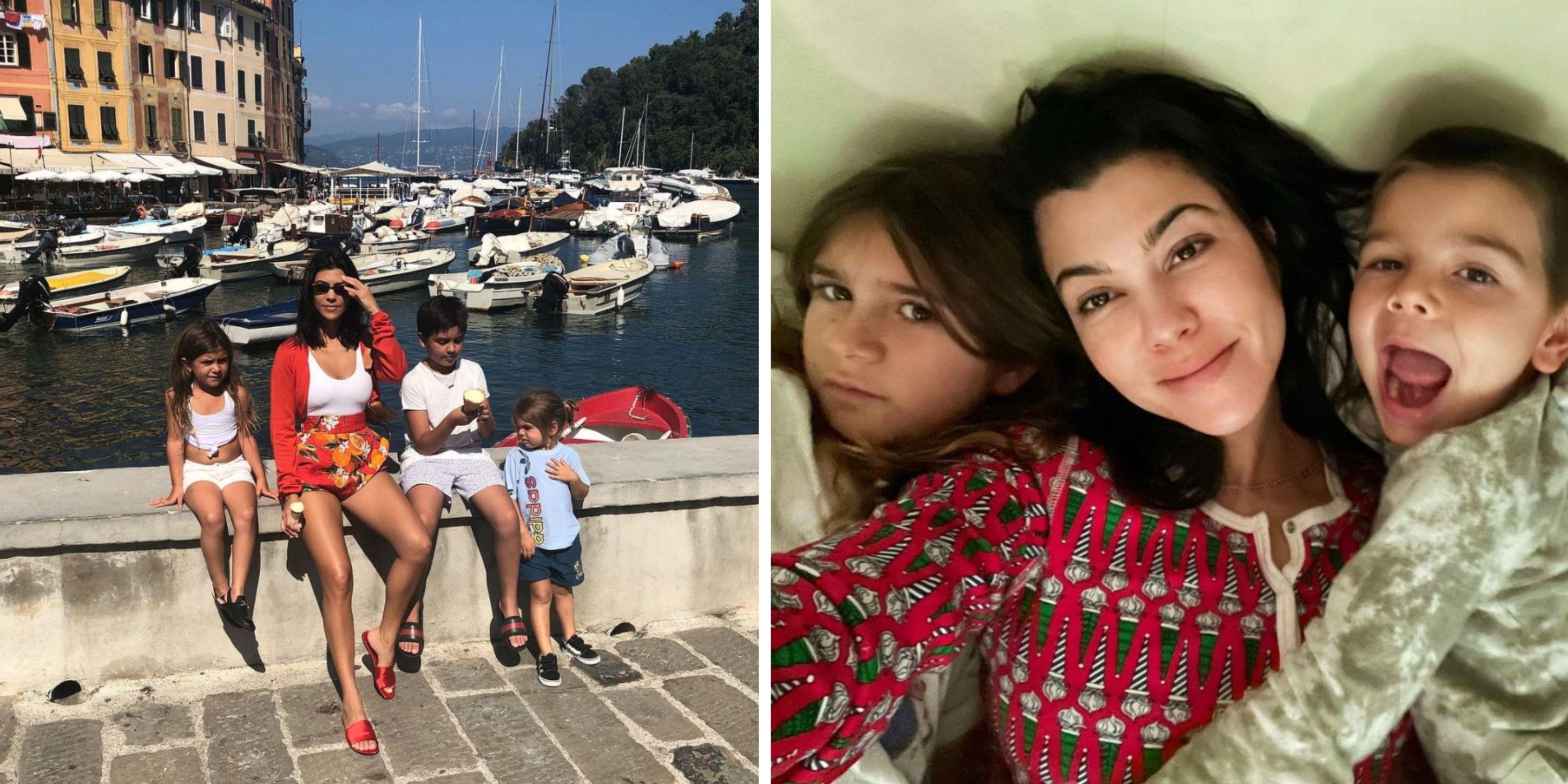 Kourtney Kardashian's 10 Sweetest Instagram Pics With Her Kids
