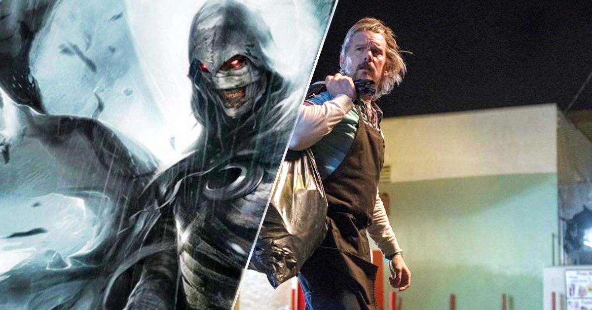 Why Ethan Hawke Is Playing This Marvel Character On 'Moon Knight'