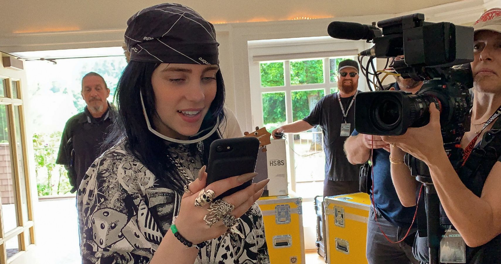 Billie Eilish Talks Being Constantly On Camera For Apple TV+ Documentary