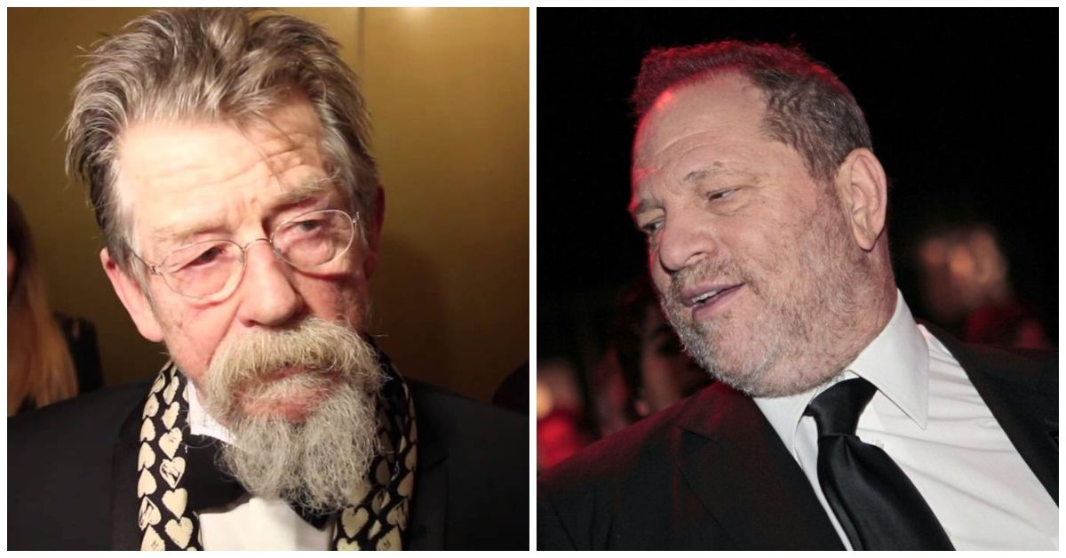 Inside 'Harry Potter's' John Hurt's Conflict With Harvey Weinstein