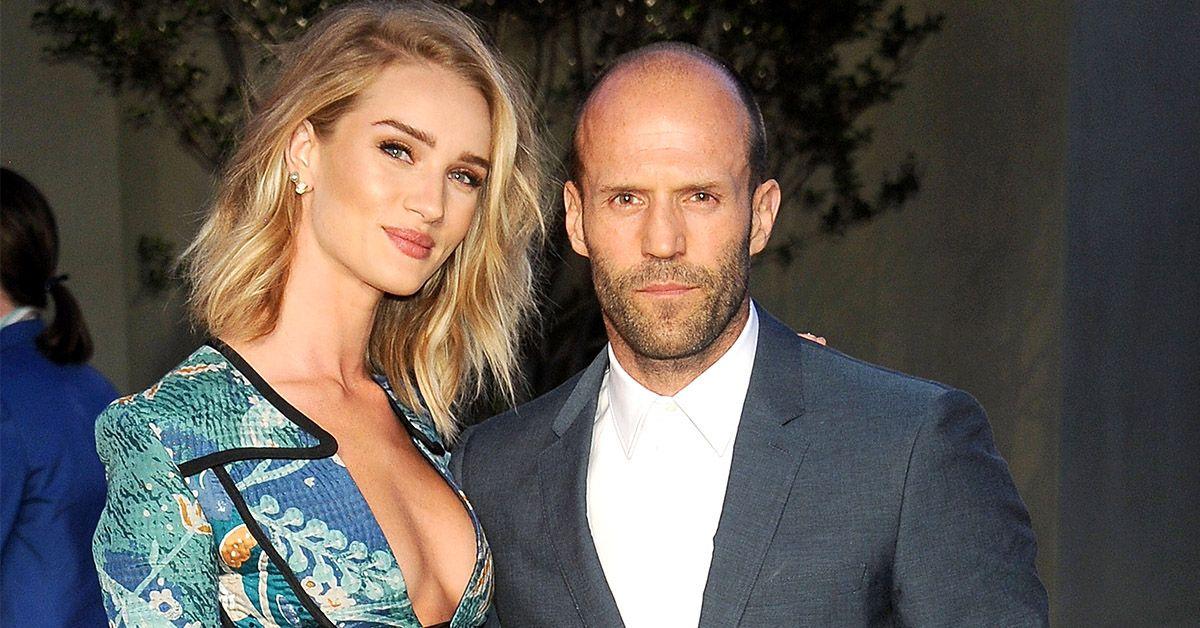 Here's How Jason Statham Met His Wife, Rosie Huntington-Whiteley