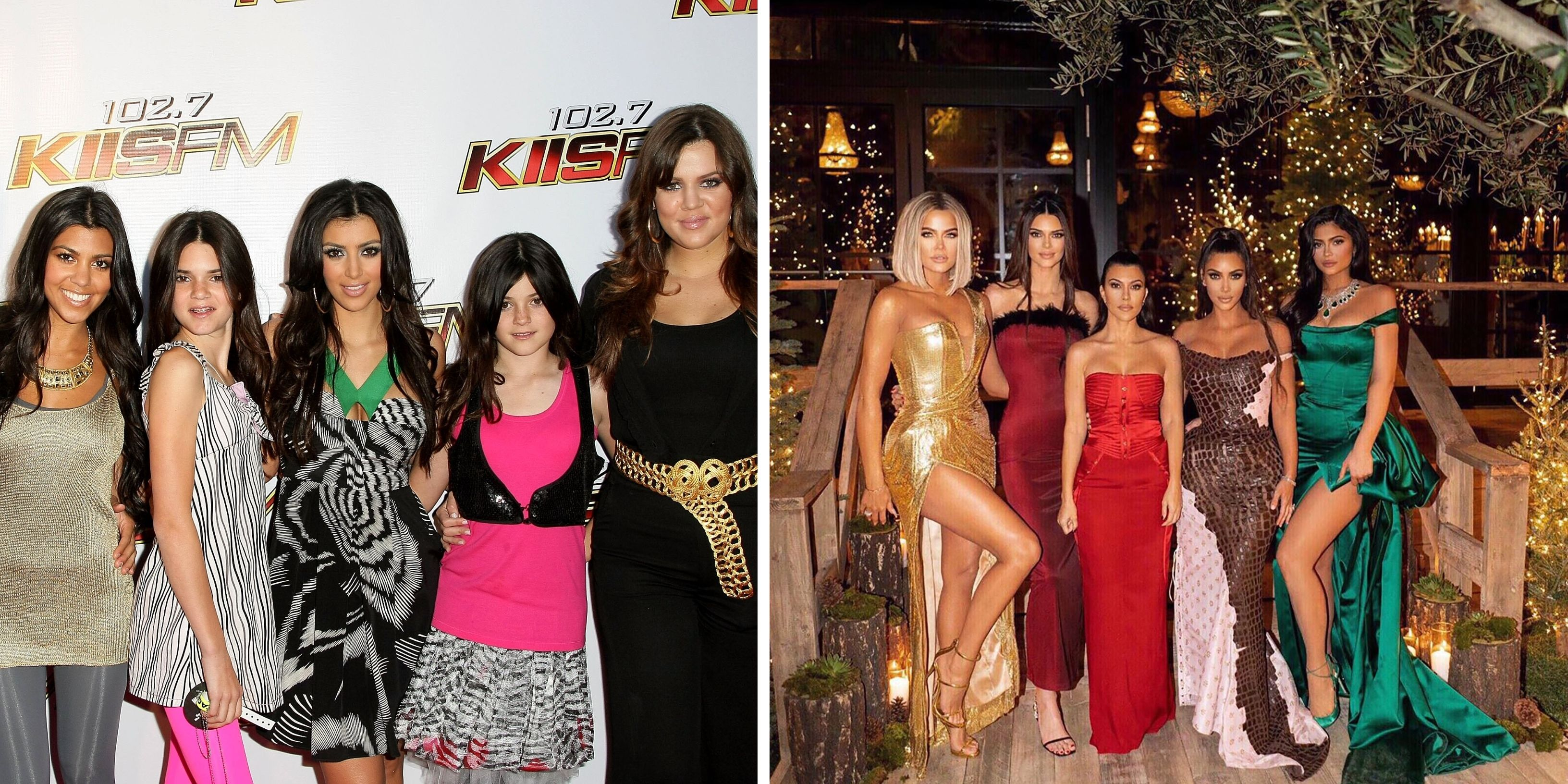 These Pics Show Just How Much The Kardashian-Jenners Clan's Style Has Evolved