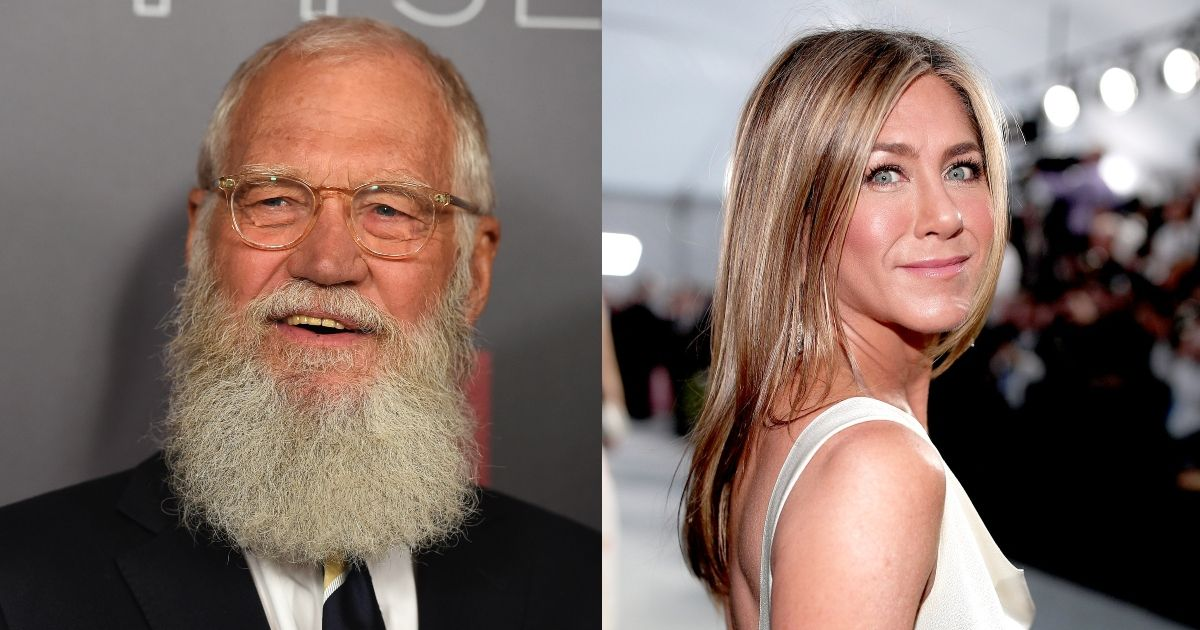 Twitter In A Rage As Cringy David Letterman's Interview With Jennifer Aniston Resurfaces