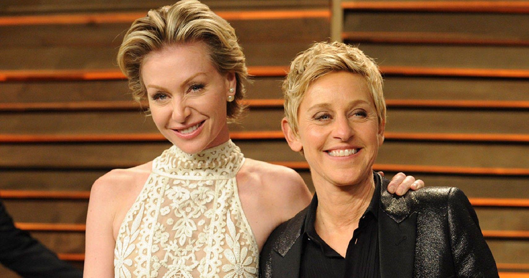Ellen DeGeneres Gives Portia Her Appendix Back For Easter