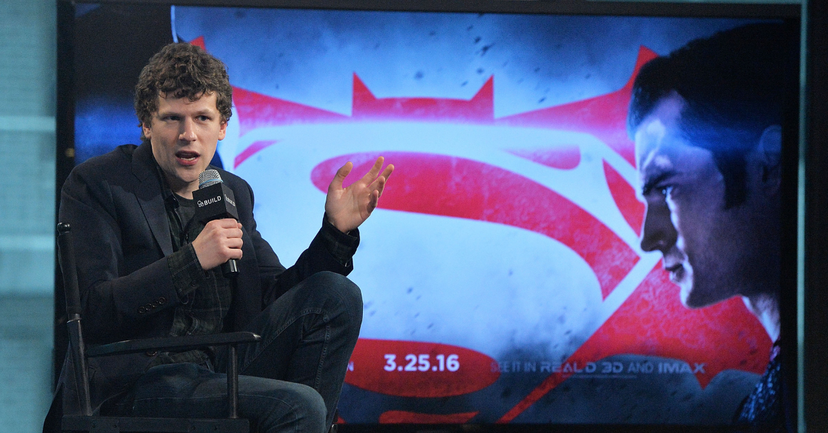 The Truth About Casting Jesse Eisenberg As Lex Luthor