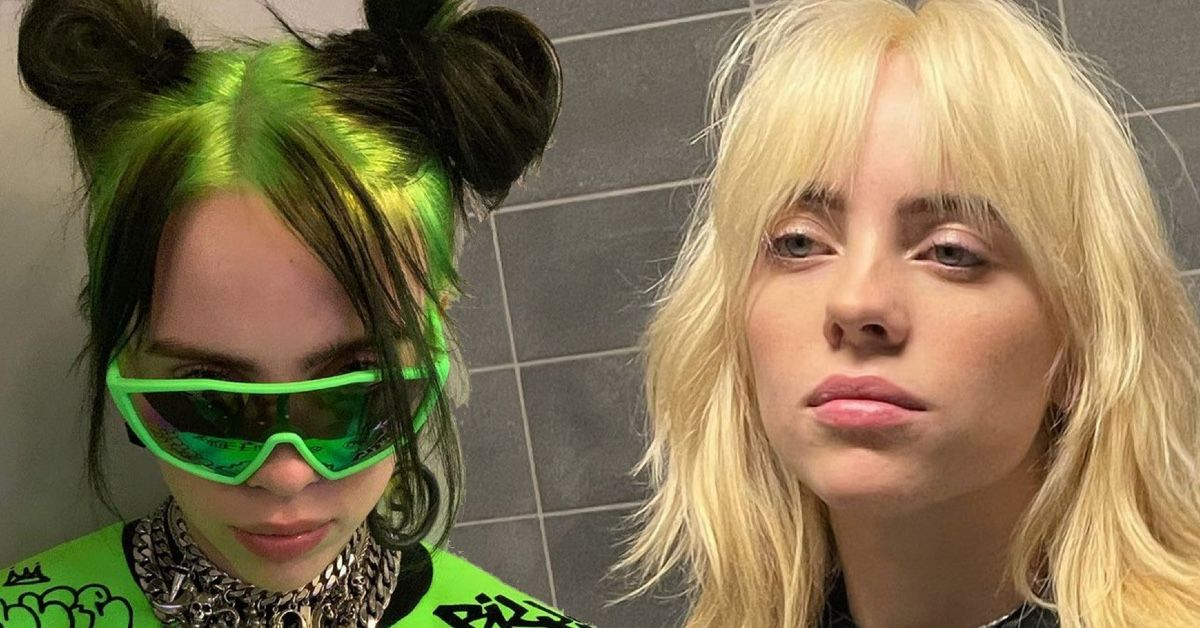 Here's Why Billie Eilish Wore A Wig For Six Weeks Before Debuting Her Blonde Hair