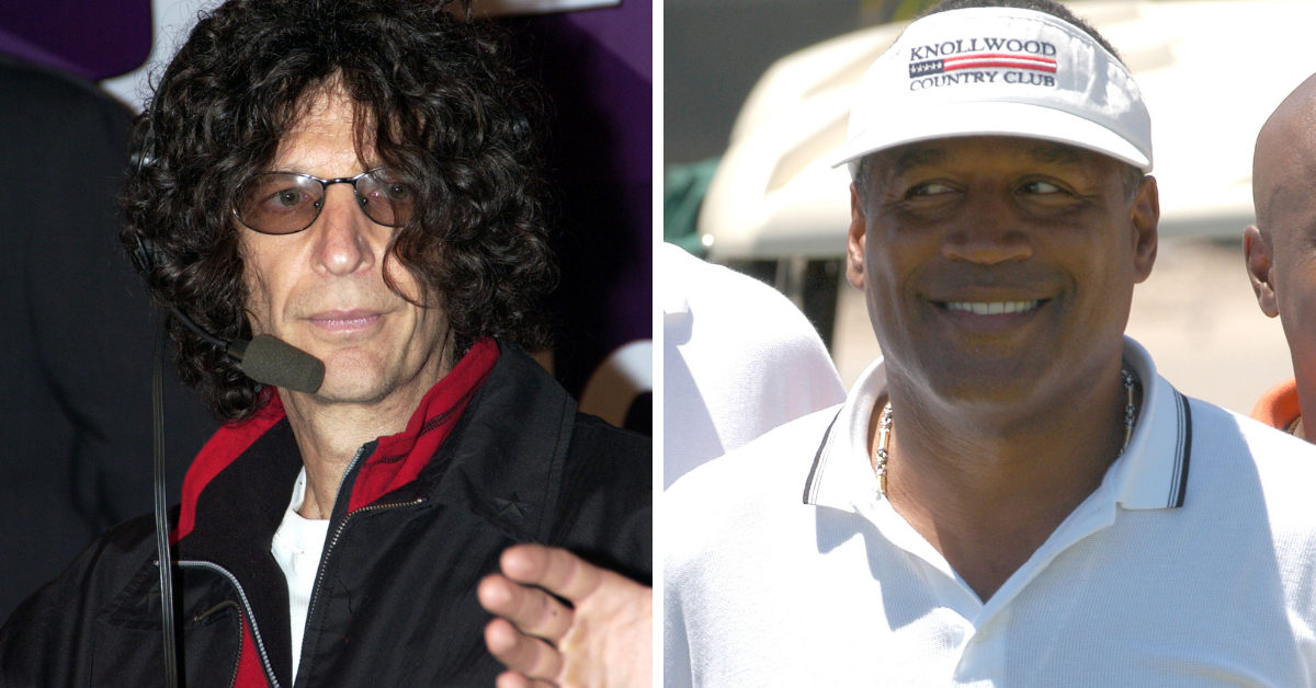 This Is What Howard Stern Really Thinks Of O.J. Simpson