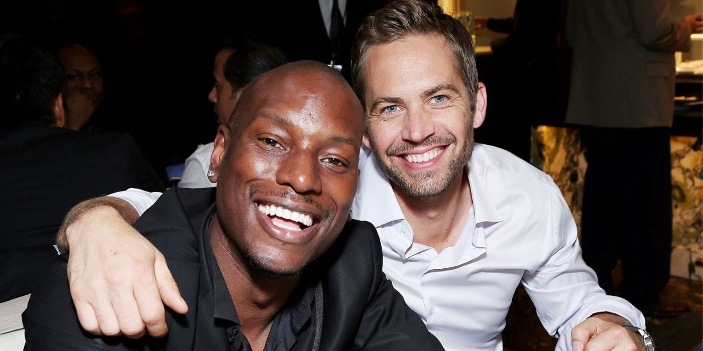 Were Tyrese Gibson And Paul Walker Friends?