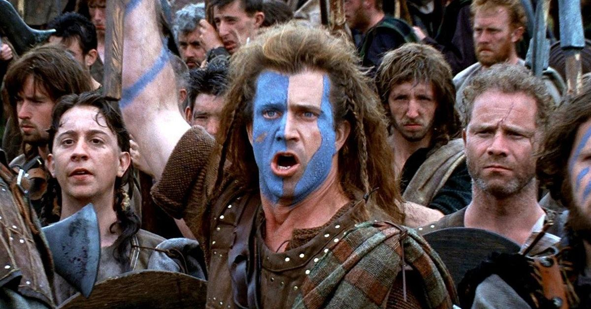 Here's How Mel Gibson Almost Died On The Set Of 'Braveheart'